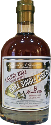 Alambic Classique Collection Galion 2002 8-Year Rum