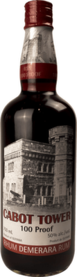 Cabot Tower 100 Proof Rum