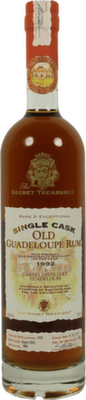 The Secret Treasures Old Guadeloupe 1992  Rum