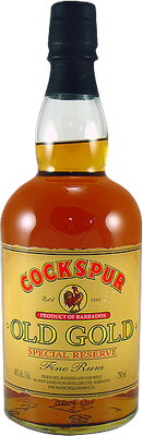 Cockspur Old Gold Rum
